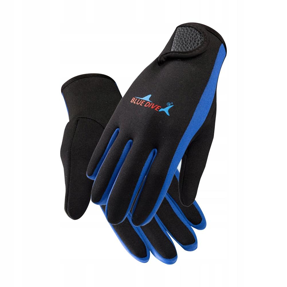 Rękawice nurkowe dla mężczyzn i kobiet noszą rękaw