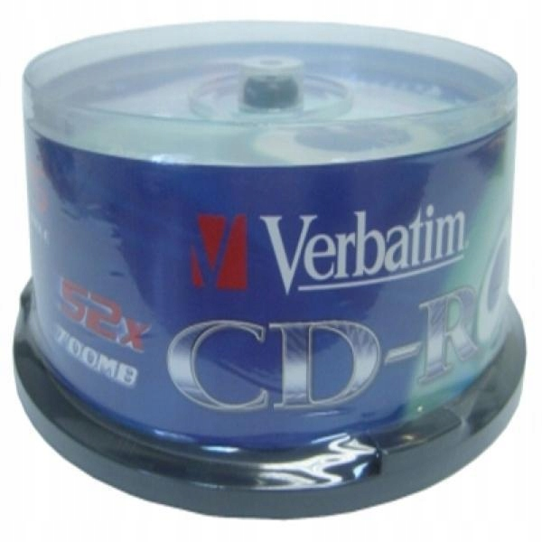CD-R Verbatim 43432 700 MB 52x (25 pcs )