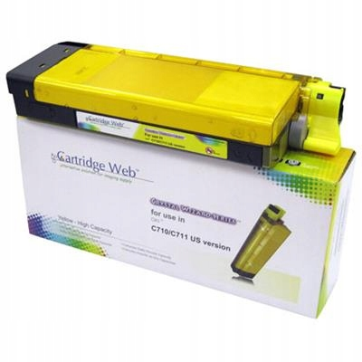Toner Cartridge Web Yellow OKI C710/C711 zamiennik