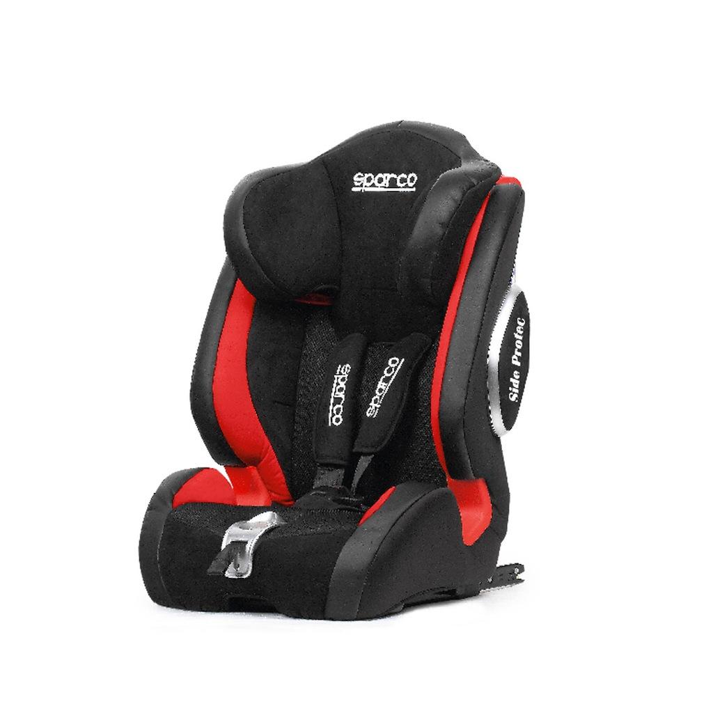 Fotelik Sparco F1000KI G123 czerwony (9-36 kg)