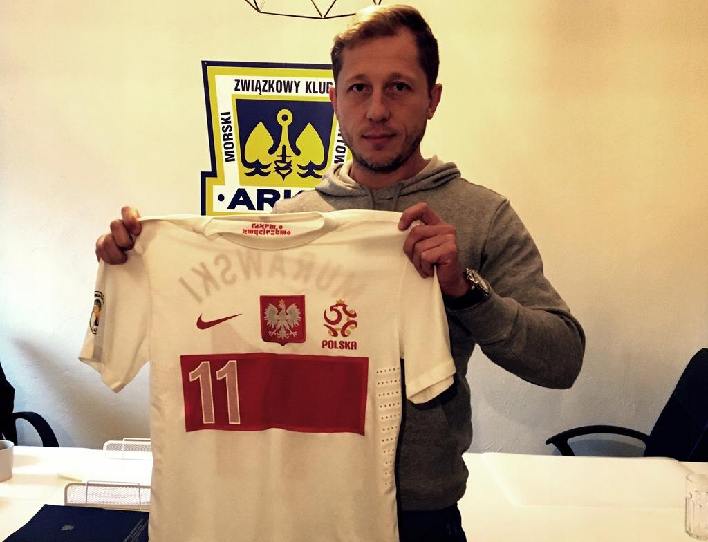 koszulka Rafała Murawskiego z EURO 2012