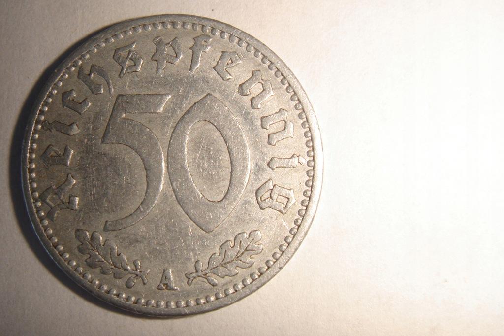 50 Reichspfennig 1940 A - Niemcy - III Rzesza