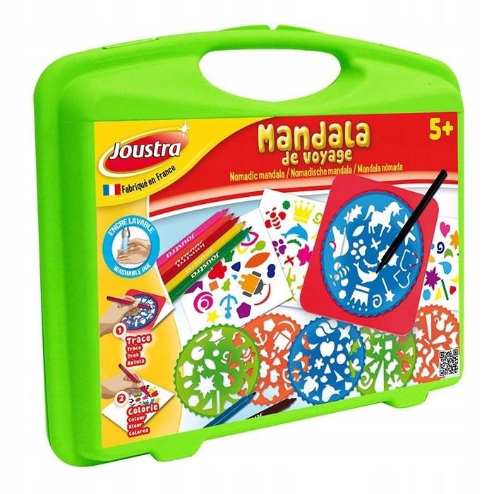 Zestaw kreatywny Mandala, w walizce