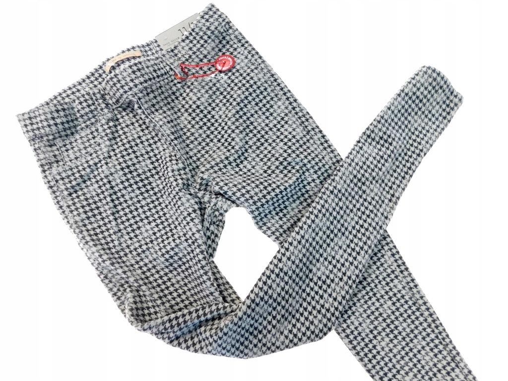 zara nowe legginsy tregginsy sztruks _ 152