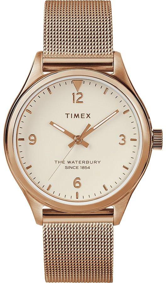 Zegarek Timex, TW2T36200, Damski, Waterbury