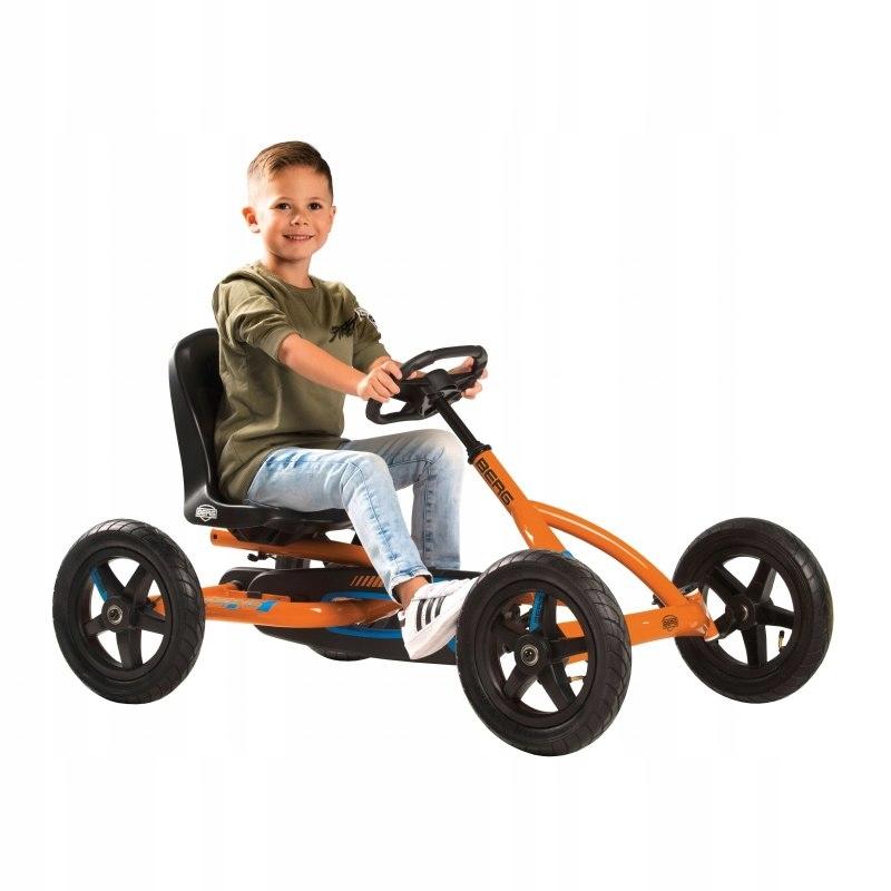 BERG Gokart Na Pedały Buddy B-Orange do 50 kg