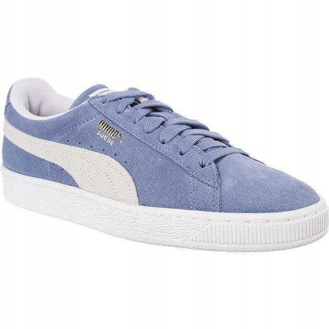 Niebieskie Zamszowe Buty Trampki Puma r.37