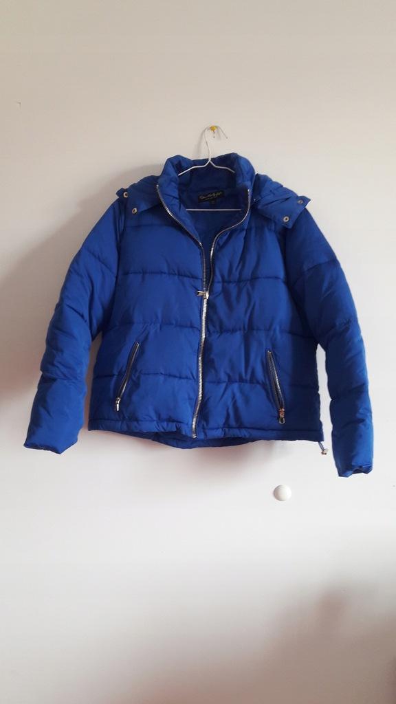 Kurtka Asos 40 niebieska