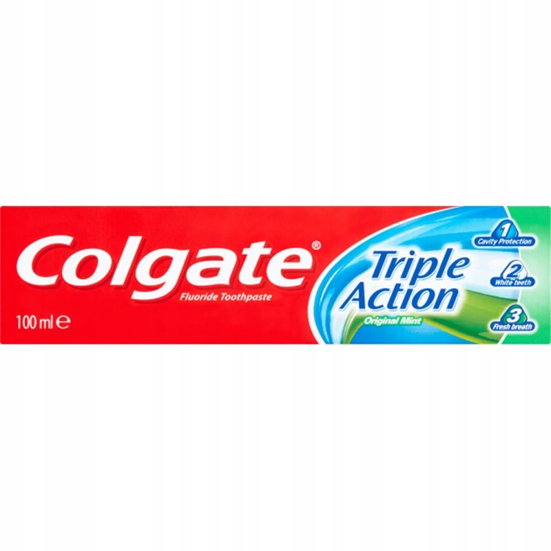Pasta do zębów COLGATE Triple Action 100ml miętowa