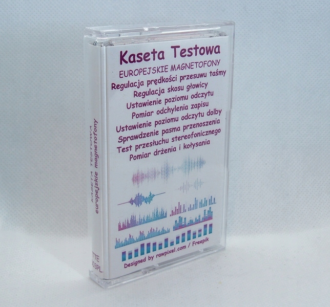 KASETA SERWISOWA TESTOWA TTE-003PL