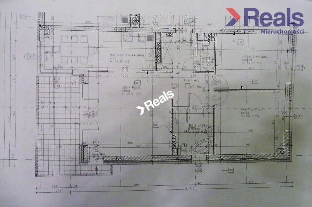 Mieszkanie Pruszków, pruszkowski, 87,00 m²
