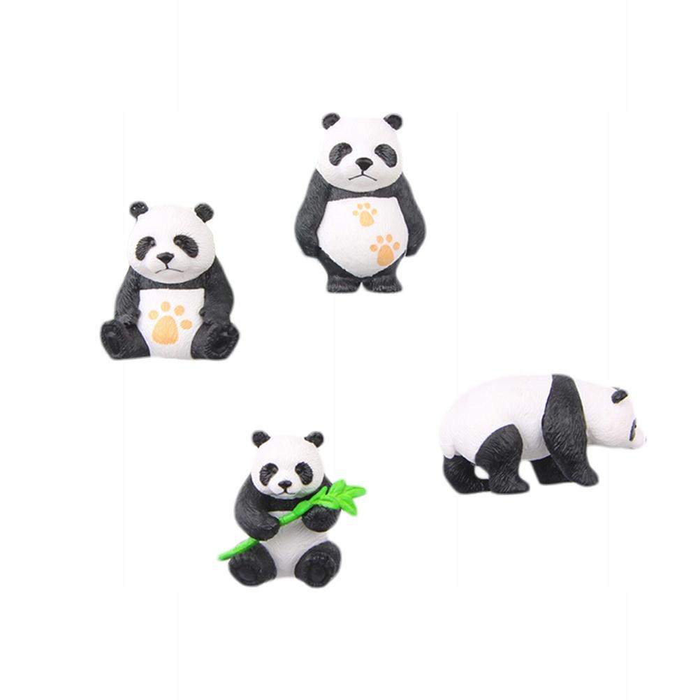 8 SZTUK Cartoon Zwierząt Dobrowolnych 3D Śliczne P
