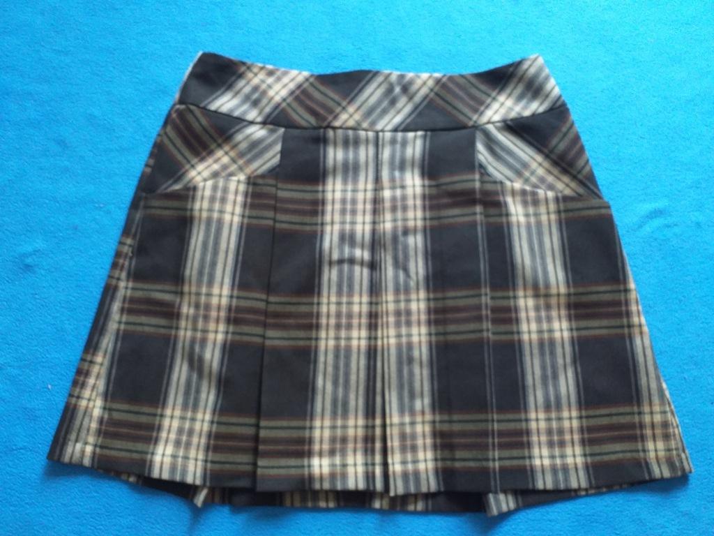 Spódnica szkocka krata tartan kilt F&F 36 S