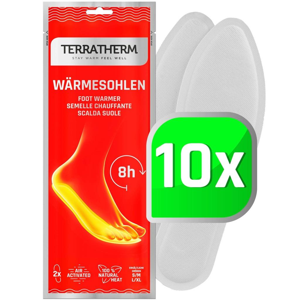 Termiczne wkładki do butów TerraTherm 36-38