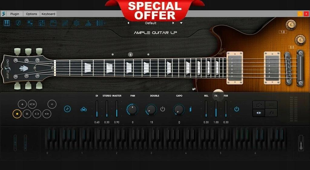Ample sound Guitar LP III