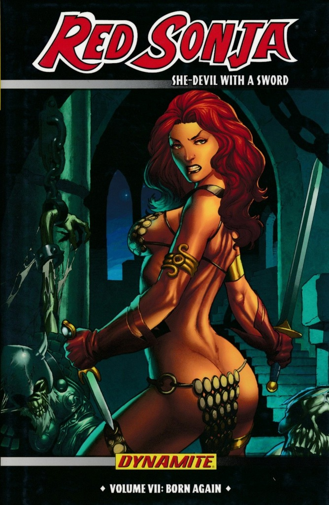 T4: RED SONJA SHE-DEVIL WITH A SWORD VOL 07 HC