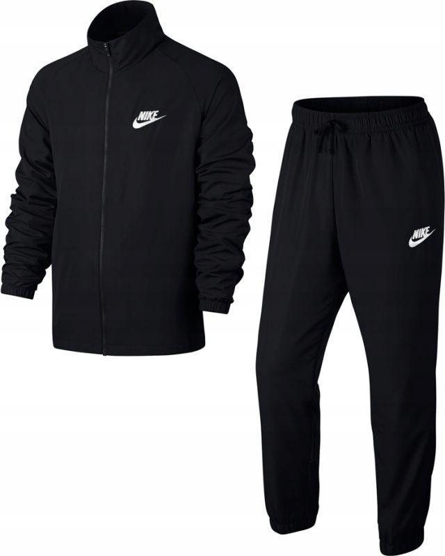 Nike 861778-010 Dres Męski Rozpinany Czarny L