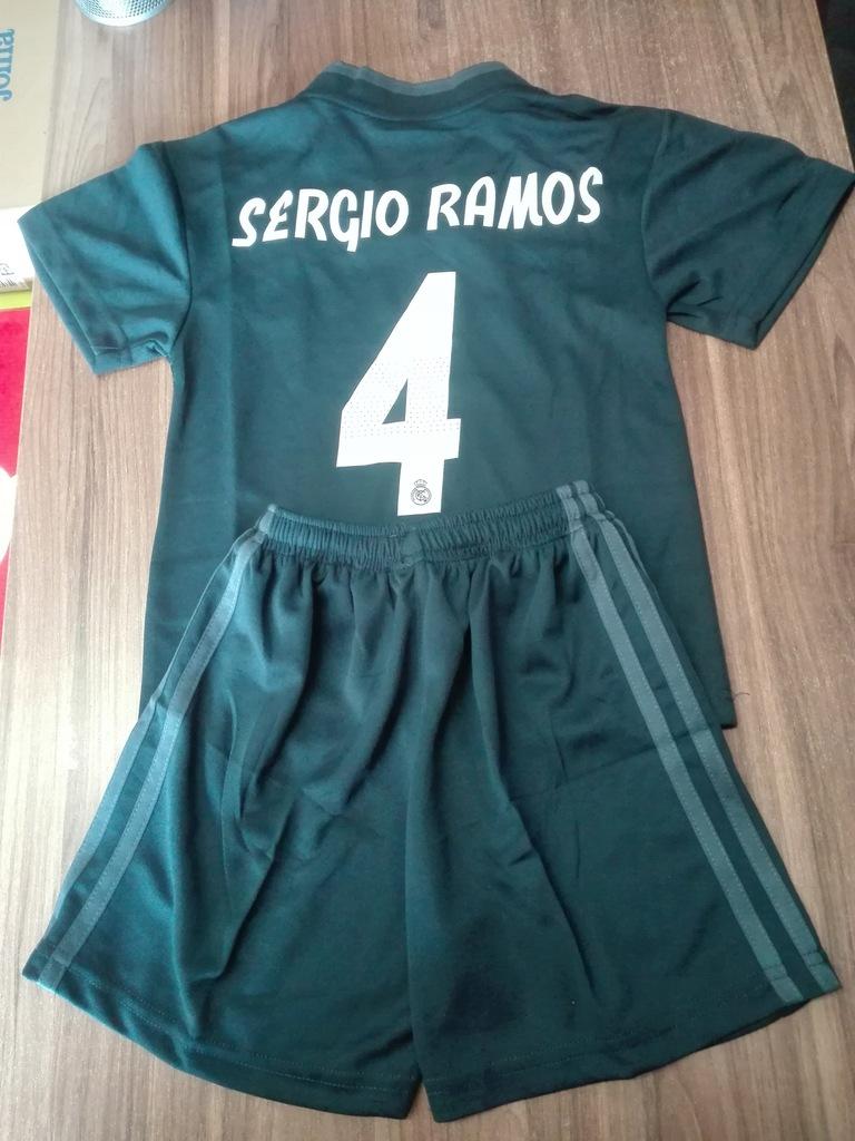 Komplet Real Madryt SERGIO RAMOS 4 r. 28UK/158 cm