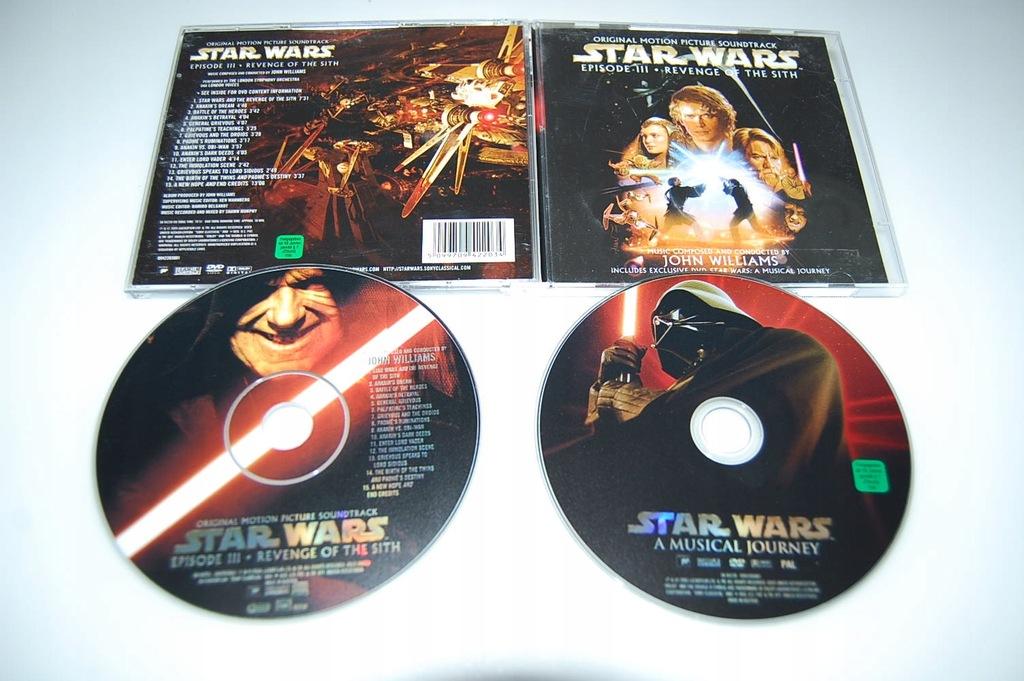 STAR WARS EPISODE III REVENGE OF THE SITH CD+DVD