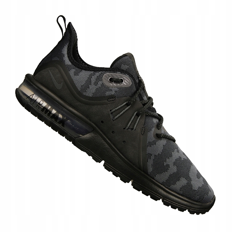 Buty Air Max Sequent 3 Nike (czarne) sklep internetowy