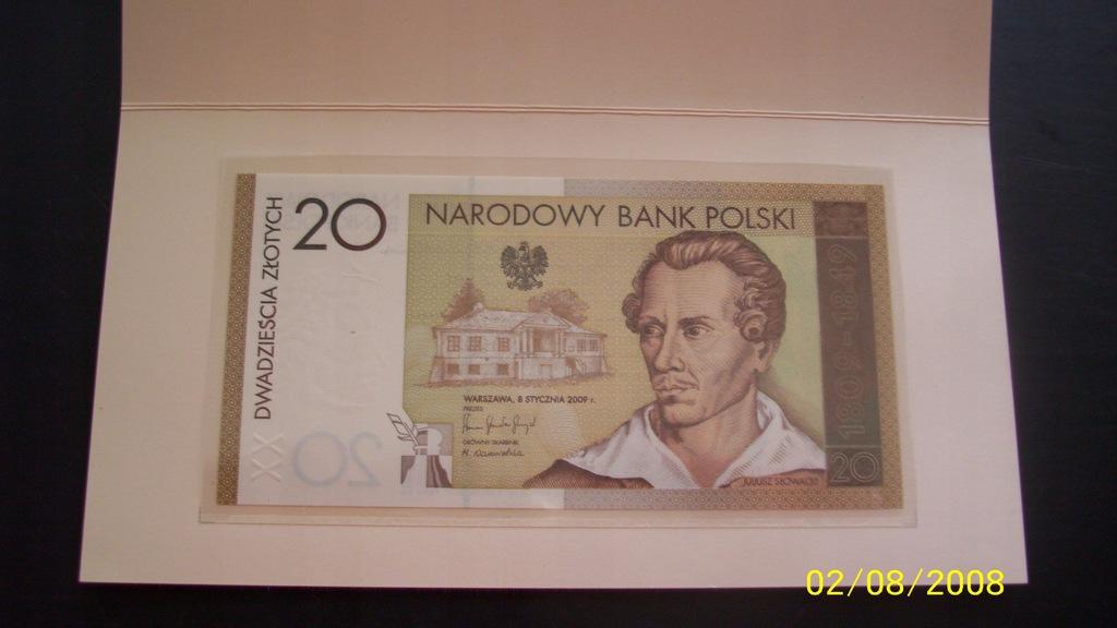 banknot kolekcjonerski Słowacki