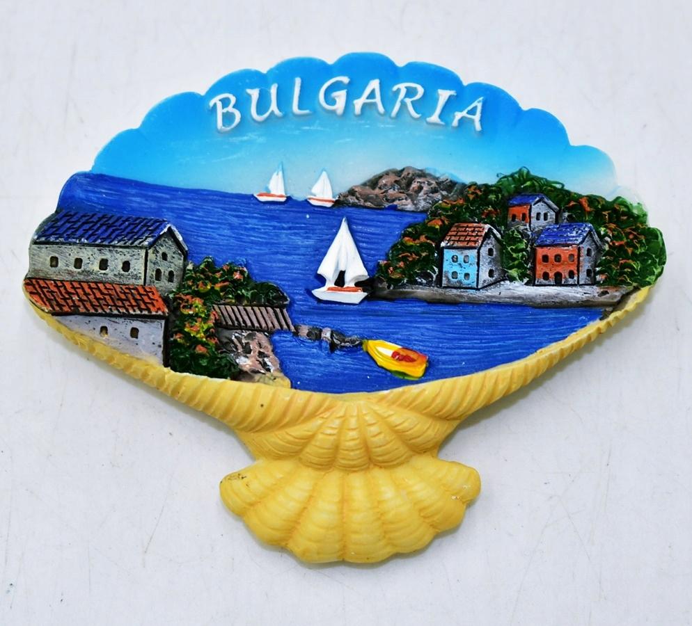 4520-32 ... p#s MAGNES CERAMICZNA MUSZLA BULGARIA