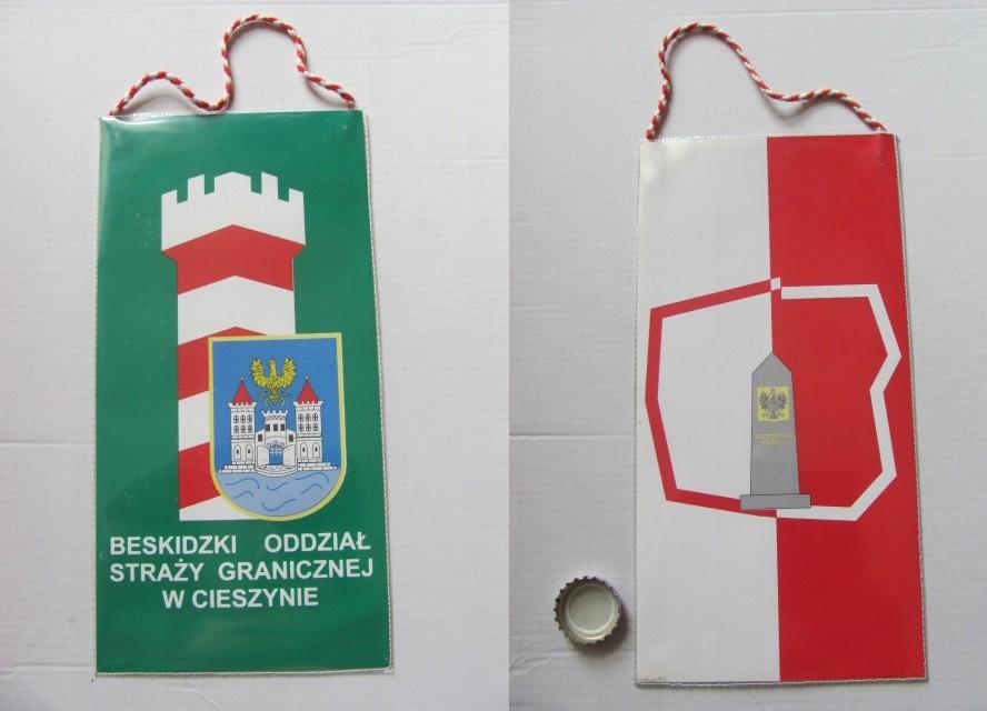 proporczyk Beskidzki Oddział Straży Granicznej