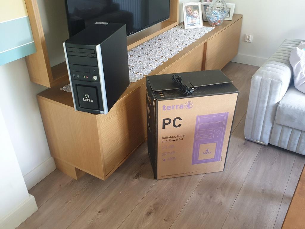 Nowy komputer Terra EU1009568 i3 3.9Ghz 4Gb W10 Gw