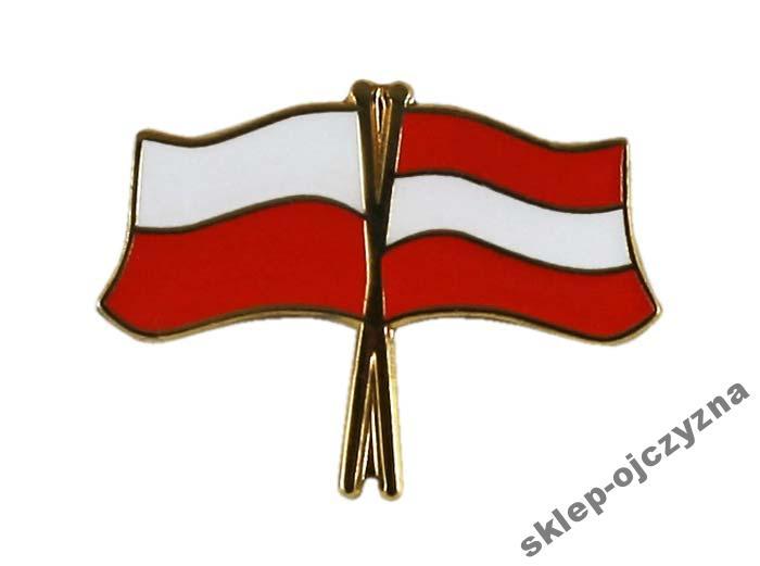 Pin Przypinka Wpinka Flaga Polska Austrii 6000159181 Oficjalne Archiwum Allegro