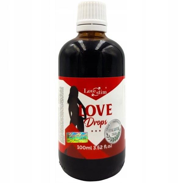 Love Drops BARDZO MOCNE krople podniecające