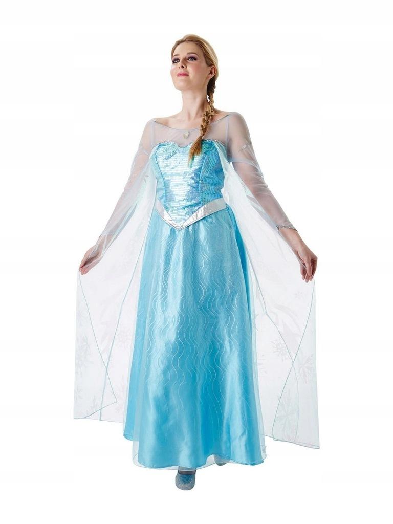Strój Księżniczki Elzy Kraina Lodu Kostium Elsa M