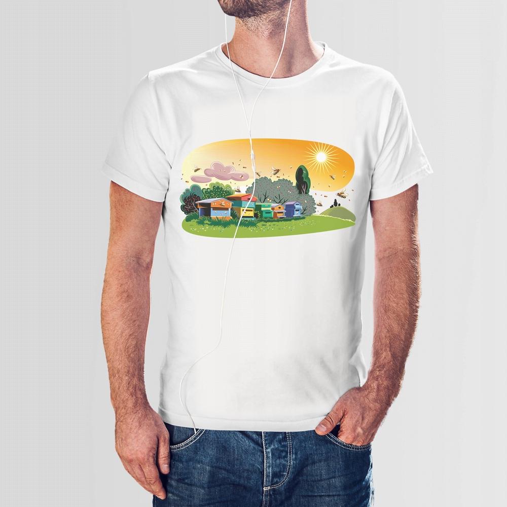 Koszulka T-Shirt męska - Pasieka XXL