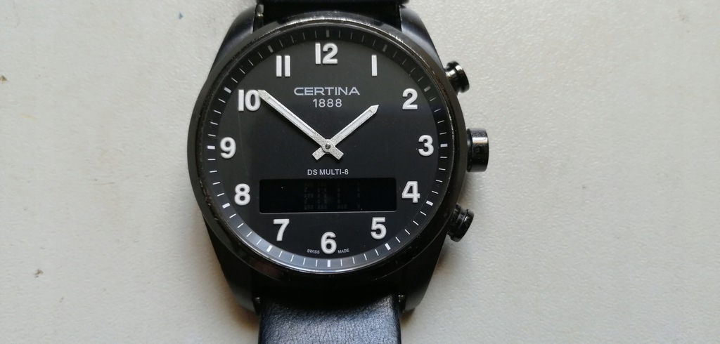CERTINA - multi 8 - zegarek