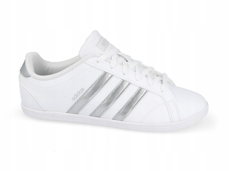 38 buty damskie adidas coneo qt db0135 białe