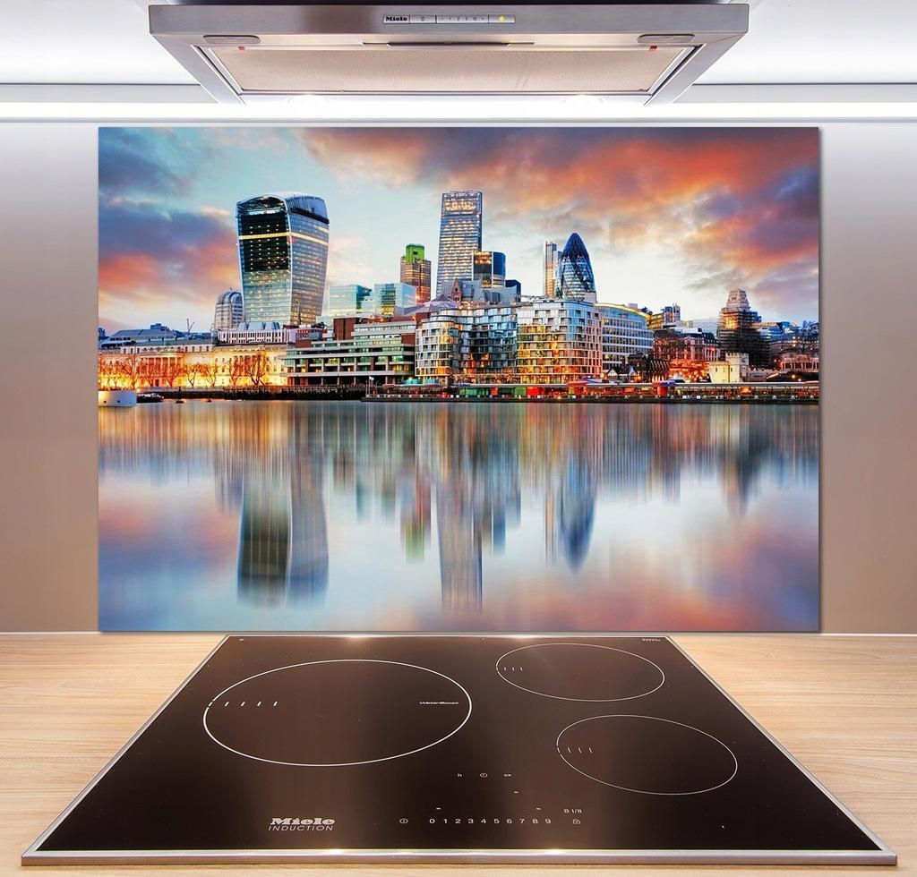 Panel do kuchni Panorama Londynu 100x70 cm + KLEJ
