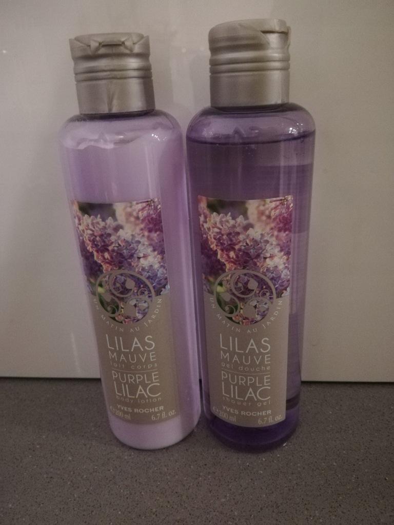 Yves Rocher Zestaw żel i mleczko Bez Lilac