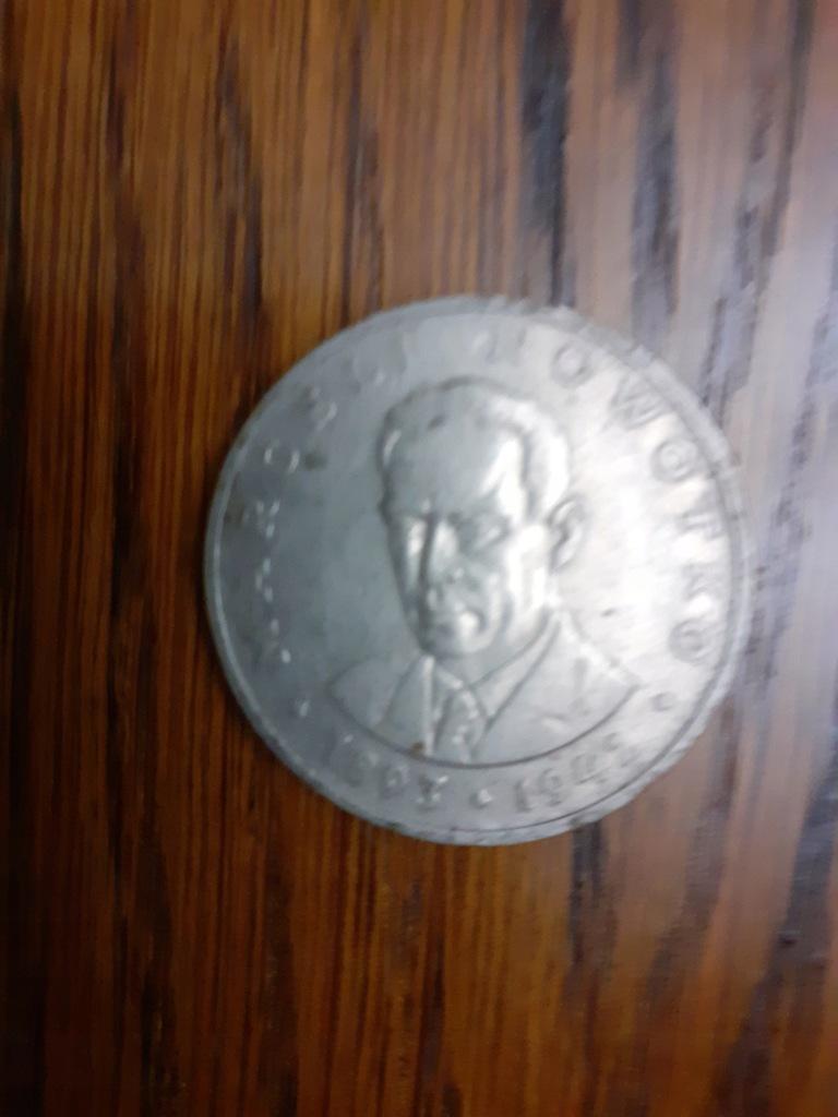 Moneta 20 zł -1976 - Marceli Nowotko - przywó. PPR