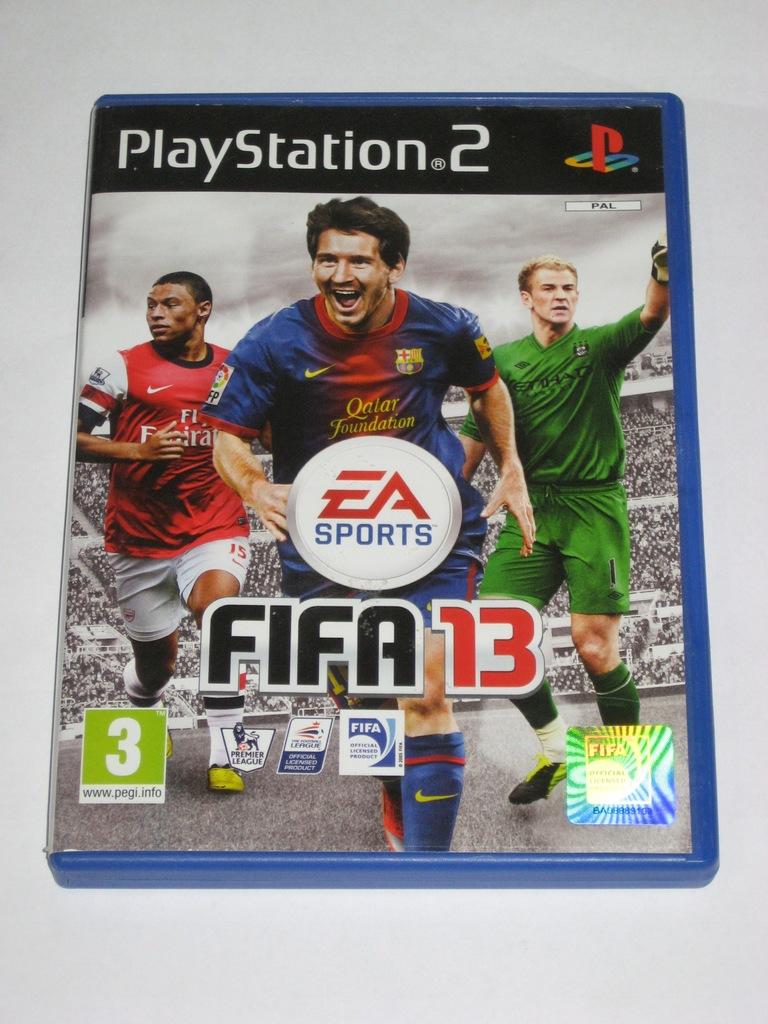 Gra Fifa13 Fifa 13 Ps2 Playstation 2 8975289366 Oficjalne Archiwum Allegro