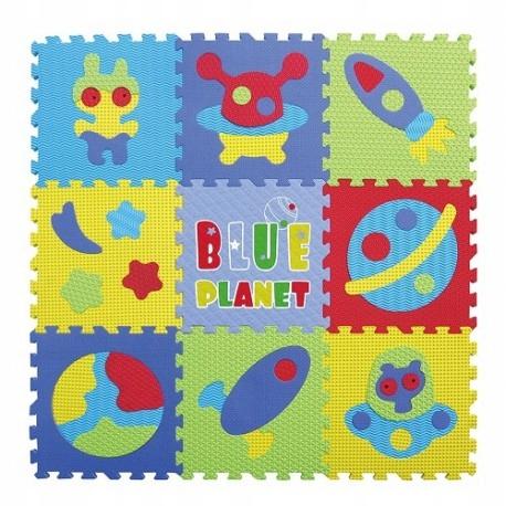 Piankowe puzzle podłogowe kosmos - 50 elementów