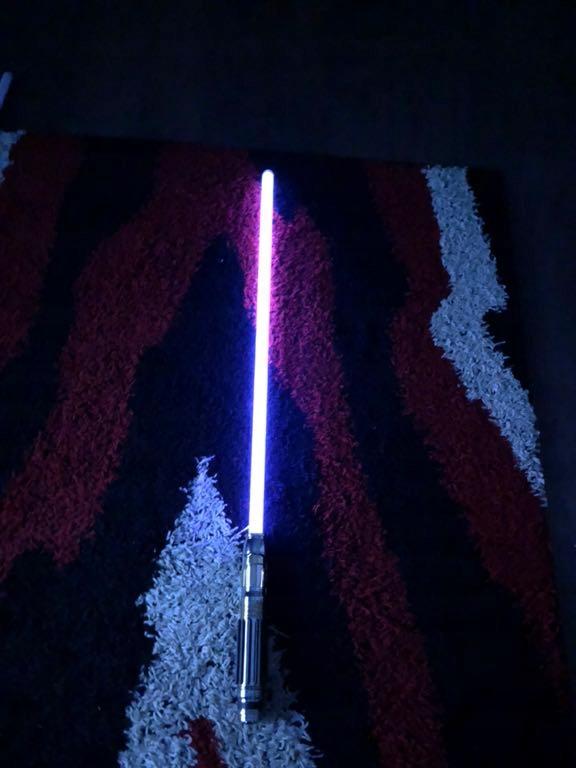 Miecz Swietlny Star Wars Force Fx Lightsaber Windu 7827775292 Oficjalne Archiwum Allegro