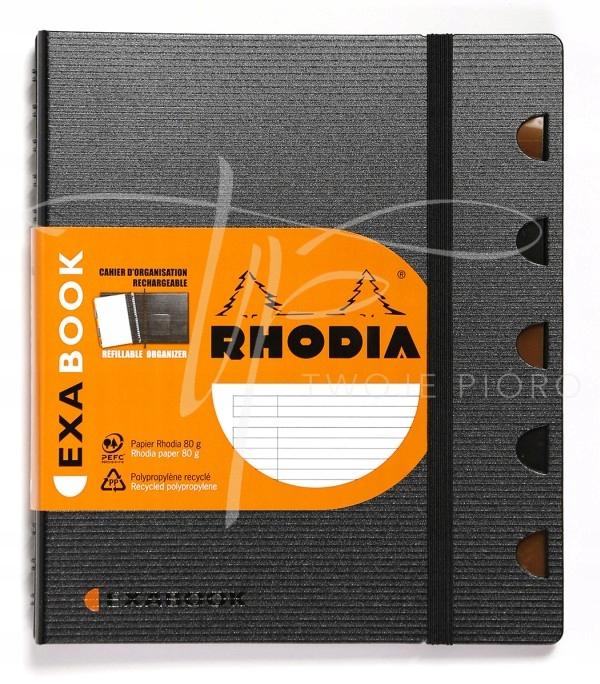 R8660 RHODIA NOTES Z ORGANIZEREM EXABOOOK A4