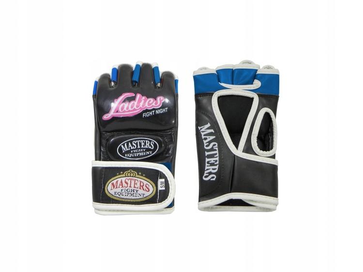 Rękawice DAMSKIE MASTERS do MMA LADIES r. L/XL