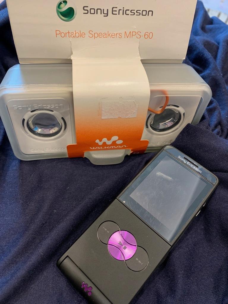 Telefon Sony Ericsson W350i +GŁOŚNIKI stan kolek.