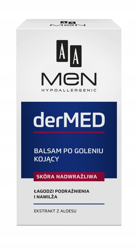 AA Men Dr Med After Shave Balm kojący balsam po go