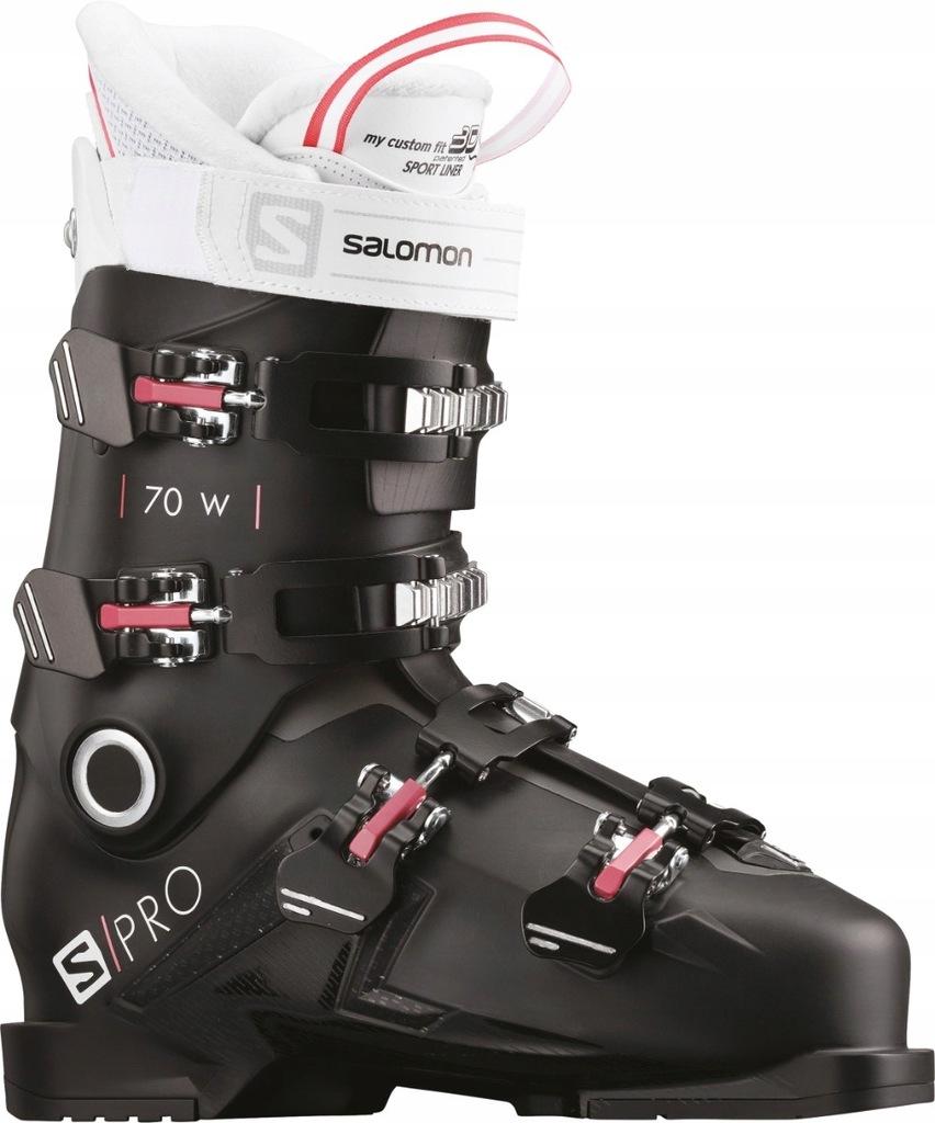 Buty narciarskie Salomon S Pro 70 W Czarny 2323.5