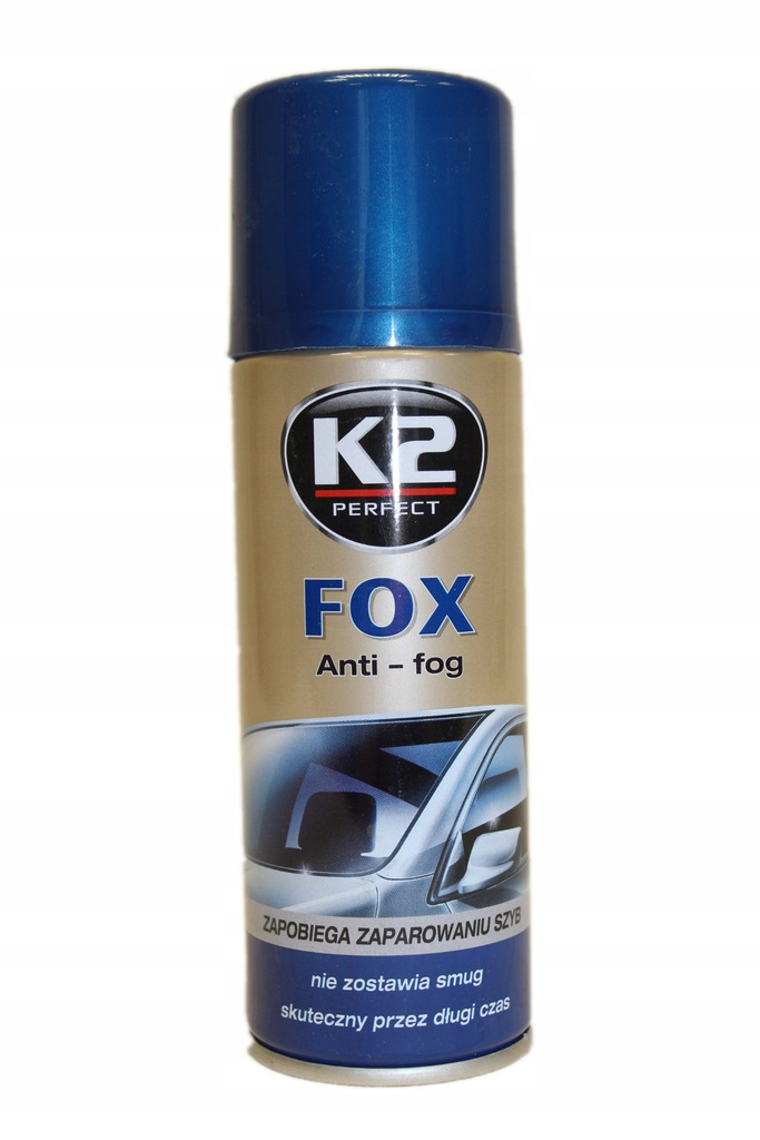K2 Środek do mycia szyb ANTI-FOG FOX 200ml K632
