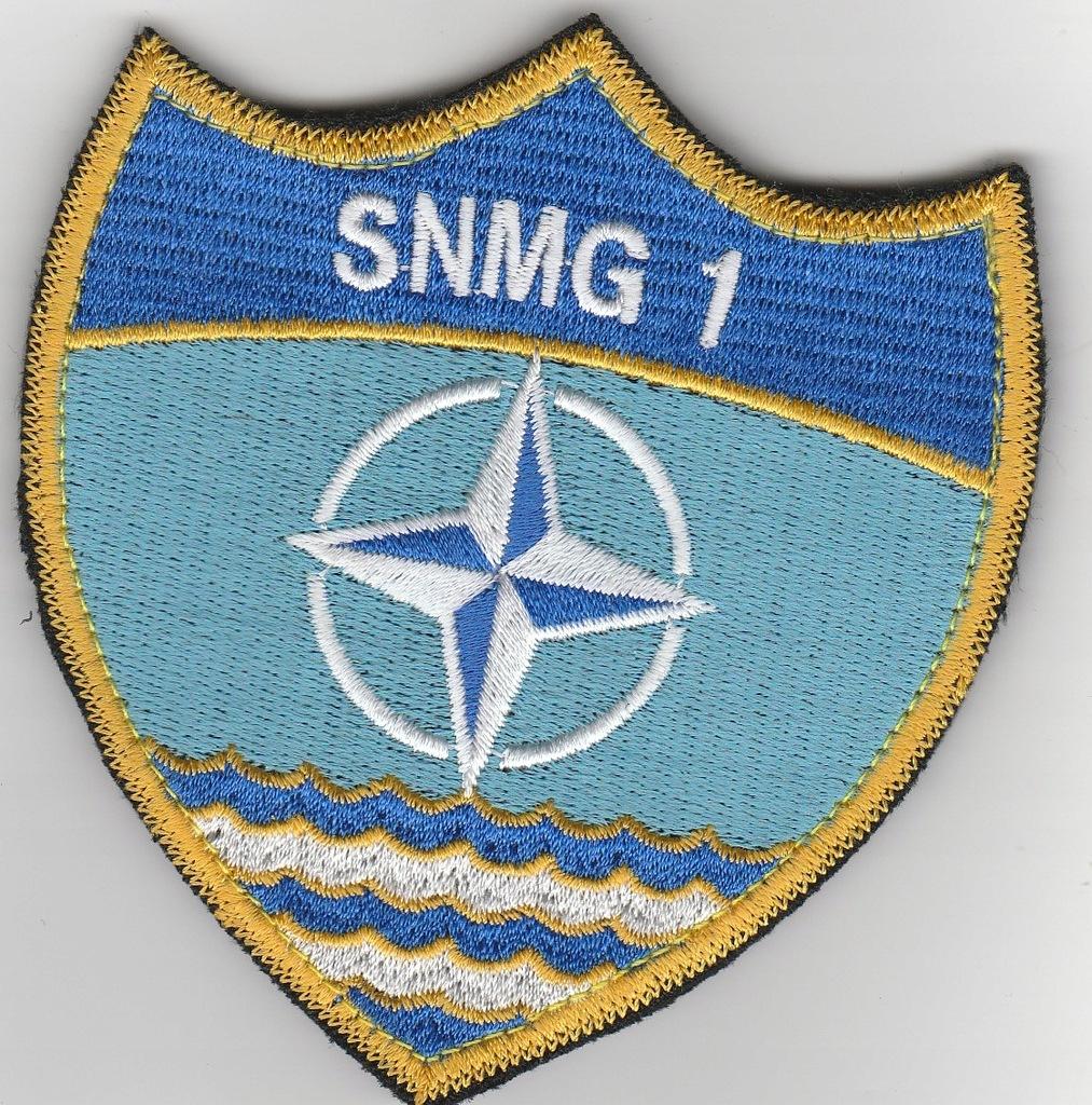 Naszywka dla jednostki morskiej NATO na Bałtyku