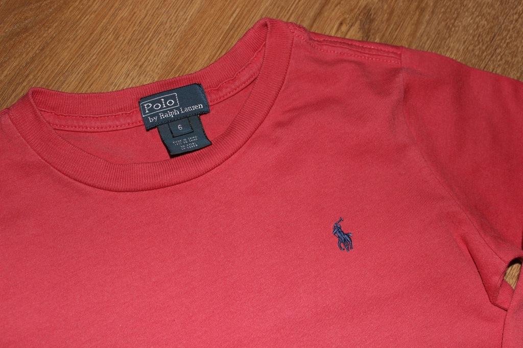 Markowa bluzeczka _ POLO by Ralph Lauren _ 6 lat _