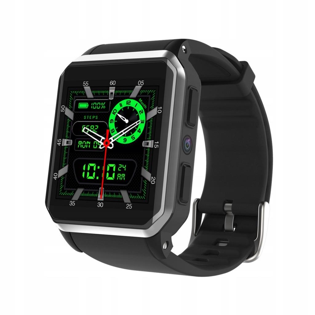 Nowoczesny Smartwatch Sim Kamera GPS Nawigacja