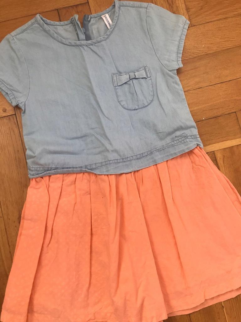 COCCODRILLO sukienka jeansowa CUDO 122